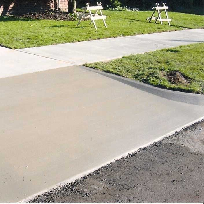 concrete commercial crossings, para-ramps, planters and repairs