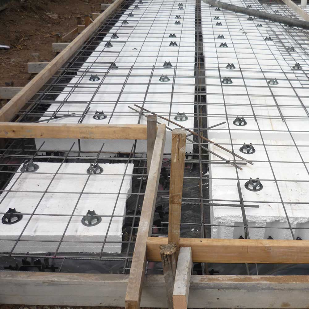 engineered concrete slabs, suspended concrete slabs, structural concrete slabs.